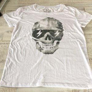 Chaser Skull Tee Size Large